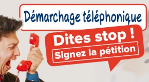 Halte au démarchage téléphonique…..